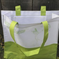 sac bicolore shopping.breizh RAIN'ette.produit breton