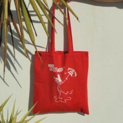sac-tote-bag-rouge-.breizh-rainette-.produit-breton.