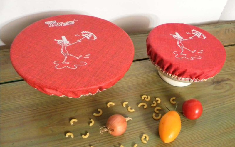 Couvercles charlottes rouge Breizh RAIN'ette x 2 -Produit breton