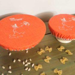 couvercles charlottes oranges .Breizh RAIN'ette .Produit breton