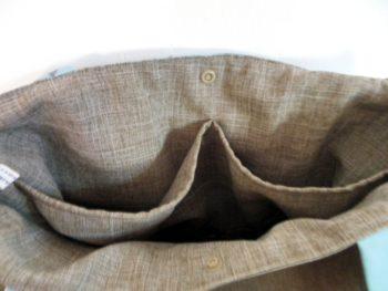 Sac-tissu-taupe-turquoise-.Breizh-RAINette-Produit-breton